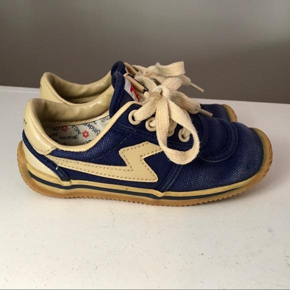 Vintage Stride Rite Zips Sneakers Lace